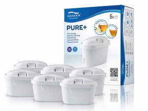 Aqualogis Pure+ Filtr do Dzbanków  Brita Maxtra+ Plus 6szt