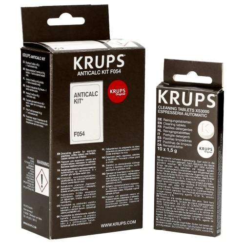 2 x Krups XS3000 Reinigungstabletten 20 Tabletten XS 3000
